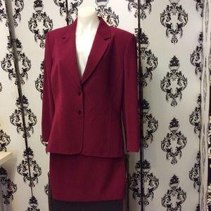 Cranberry suit